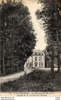 """""""LE DELUGE"""" Par MARCOUSSIS  Façade N.E Du Côté De L'Entrée. Carte écrite En 1914 - Other Municipalities"""
