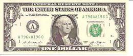 USA  1 Dollar  A  2013  UNC - Billets De La Federal Reserve (1928-...)