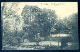 Cpa Du 22 St Cast - Le Tennis De La Garde     AVR20-160 - Saint-Cast-le-Guildo