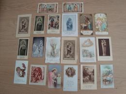 LOT DE 20 IMAGES RELIGIEUES - Devotion Images