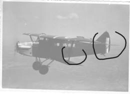 Armée Française  Avion Potez 25  Sanitaire Croix Rouge Madagascar 1938 - Guerre, Militaire