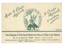 BUVARD  Banque Credit Agricole   Mutuel *****     A SAISIR   ****** - Banco & Caja De Ahorros