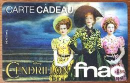 DISNEY CENDRILLON CARTE CADEAU LANTICULAIRE GIFT CARD PAS TÉLÉCARTE QUE POUR COLLECTIONNEUR - Disney