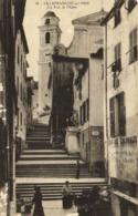 VILLEFRANCHE Sur MER  La Rue De L' Eglise  Animée RV - Villefranche-sur-Mer