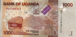 OUGANDA 1000 SHILLINGS 2017 UNC P 49 E - Oeganda