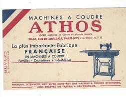 BUVARD  MACHINES A COUDRE  ATHOS  *****     A SAISIR   ****** - Wassen En Poetsen