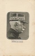 Général Henri Beaudenom De Lamaze. Dos Non Carte Postale . Format 9 Par 14 - Hommes Politiques & Militaires