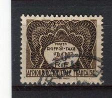A.O.F. - Y&T Taxe N° 10° - Oblitérés
