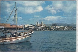 LIMASSOL - Sea Front,  Centre Of Wine Industry In Cyprus  Nice Stamp  Used 1959, Air Mail - Cipro