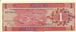ANTILLES NEERLANDAISES 1 GULDEN 1970 UNC P 20 - Antillas Neerlandesas (...-1986)