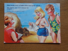 Naakt, Nude, Naked / Sexy / Humor --> Beschreven (geschonden Rechter Bovenhoek) - Humour