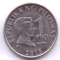 PHILIPPINES 2015: 1 Piso, KM 269a - Filippijnen
