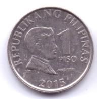 PHILIPPINES 2015: 1 Piso, KM 269a - Philippinen
