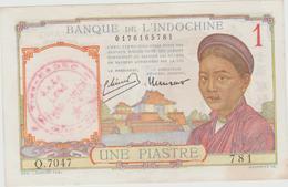 VIETNAM  VIETMINH  1$   BANKNOTE   FINE  See3  Scans   (INDOCHINE) Réf  3900 - Viêt-Nam