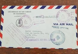 Guatemala Courrier En Franchise Pour Paris 04.11.1949 - Guatemala