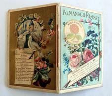 Almanach RIMMEL 1891 Complet Sur 8 Pages Angleterre;Suisse,Hollande,Russie,Espagne,France - Altri