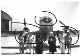 Armée Française  Aviation Coloniale Madagascar Départ Du Lt ASSOLANT 1939 - Guerre, Militaire