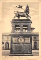 """01593 """"ADDIS ABEBA - MONUMENTO DAVANTI ALLA STAZIONE FERROVIARIA""""  FRANCOBOLLO COLONIE ITALIANE. CART SPED 1936 - Ethiopië"""