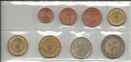 Malta, 2008, Serie Completa Decimale Euro. - Malta