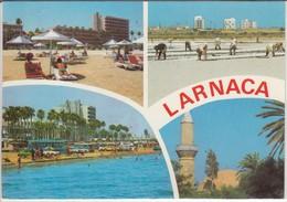 LARNACA - Multi View, Sea Front, Salt Collection, Hala Sultan Tekke,  Minarett, Nice Stamp - Cipro