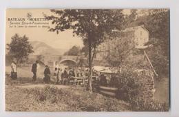 Bateaux MOUETTES - Service Dinant Anseremme - Sur La Lesse Au Moment Du Départ - Animée - Dinant