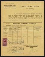 GB FOREIGN SERVICE HENNESSY COGNAC QE2 FISCAL - Steuermarken