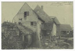 Z02 - Molhem / Brussegem - Molen - Witgrijze Kaart - Asse
