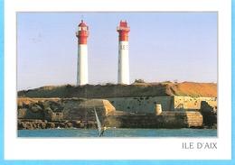 Ile D'Aix (Fouras-Charente Maritime)-Les Phares (Phare)-Véliplanchiste (planche à Voile) - Fouras-les-Bains
