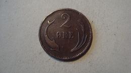 MONNAIE DANEMARK 2 ORE 1874 - Denmark