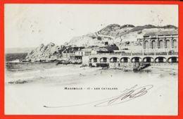 Nw114 MARSEILLE VII (13) Les CATALANS 1902 à OSTALRICH Saint-Tropez LACOUR 16 - Endoume, Roucas, Corniche, Spiaggia