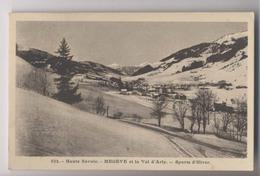 MEGÈVE ET LE VAL D'ARLY - 1924 -  [74] Haute Savoie - Megève