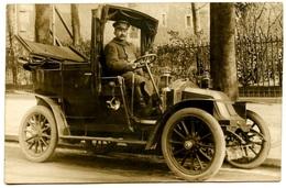 Voiture à Identifier - Chauffeur - Voir Scan - Ansichtskarten