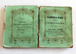 Almanach Bijou1864 Susse Frères,Musée Spéctacle VoituresTramways Omnibus Bateaux - Calendars