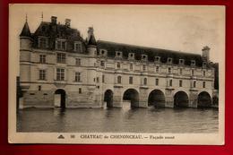 CPA 37 Château De Chenonceaux Façade Ouest - Ed CAP N° 90 - Chenonceaux