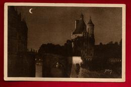 CPA 37 Château De Chenonceaux Clair De Lune - Ed Yvon 18 - Chenonceaux