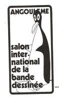 BD -  Autocollant / Sticker - Salon International De La Bande Dessinée Angoulême - Ill. : Alfred (Saint-Ogan) Avant 1989 - Autocollants