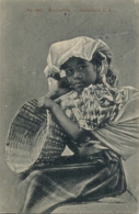 1909 , GUATEMALA , TARJETA POSTAL CIRCULADA , Nº 246 - NIÑA MIXQUEÑITA , TEMA ÉTNICO - Guatemala