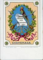 GUATEMALA , TARJETA POSTAL NO CIRCULADA , ESCUDO DE ARMAS DEL PAIS - Guatemala