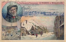 SAINT PIERRE ET MIQUELON , T.P. ESCRITA , NO CIRCULADA , LA RADE DE SAINT PIERRE , SAINT - PIERRE - Saint-Pierre-et-Miquelon
