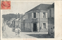 PANAMA ?? , T.P. CIRCULADA , W.I.A.P. TELEGRAPH OFFICE - Panama