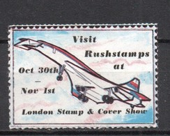 GB . Stamp Dealers Promotional Item. 'Rushstams At London Stamp Show - Steuermarken