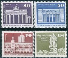 DDR - Mi 1879 / 1882 - ** Postfrisch (B) - Aufbau In Der DDR Großformat V - [6] République Démocratique
