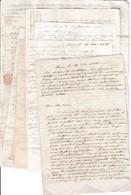 1838- 10 Lettres De TURIN Adressées à M. DESPINE Père, Médecin, Directeur Des EAUX THERMALES à AIX En SAVOIE - Documents Historiques