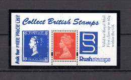 GB . Stamp Dealers Promotional Item. Mint'  With Valid Postage Stamp - Steuermarken