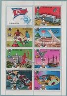 JO76-E/L7 - COREE DU NORD Feuillet Obl. Jeux Olympiques De Montréal 1976 - Corée Du Nord
