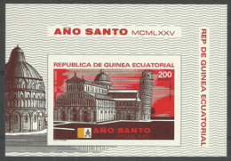Equatorial Guinea 1976 Year , Mint Block - Guinea Equatoriale