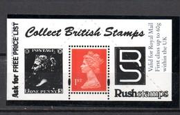 GB . Stamp Dealers Promotional Item. Mint'  With Valid Postage Stamp. - Steuermarken