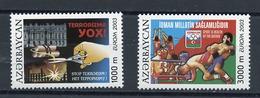 Azerbaïdjan - Aserbaidschan - Azerbaijan 2003 Y&T N°460 à 461 - Michel N°543A à 544A *** - EUROPA - Azerbaiján