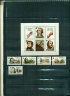 POLOGNE  200 USA 5 VAL+ BF   NEUFS A PARTIR DE 0.60 EUROS - 1944-.... Republic