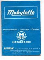 NOTICE MOBYLETTE MOTOBECANE 1973 BP-ZOOM - Motos